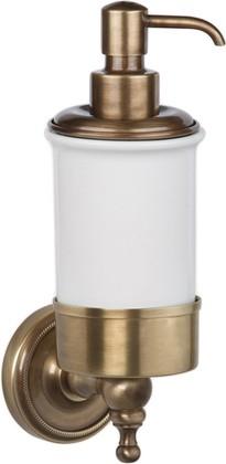 Дозатор для жидкого мыла керамический, бронза TW Bristol TWBR108br