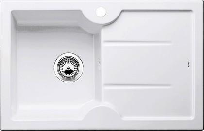 Кухонная мойка чаша слева, крыло справа, керамика, белый глянцевый Blanco Idessa 45 S 514497