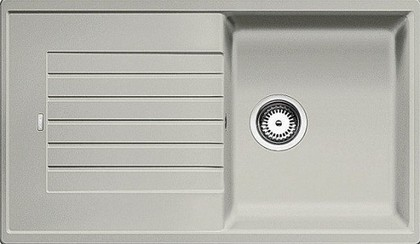 Кухонная мойка оборачиваемая с крылом, гранит, жемчужный Blanco Zia 5 S 520514