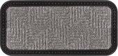 Коврик придверный Golze Border Star, 25x60, серые квадраты 485-19-42