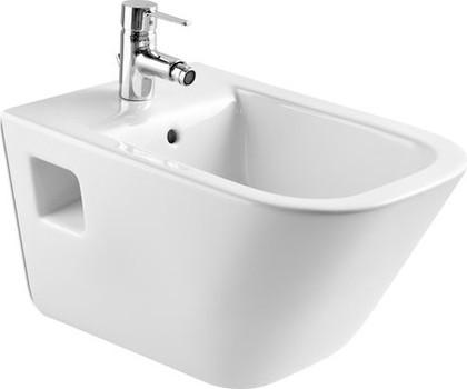 Керамическое подвесное белое биде Roca The GAP 357475000