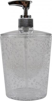 Ёмкость для жидкого мыла пластиковая прозрачная Spirella Ice 4005857