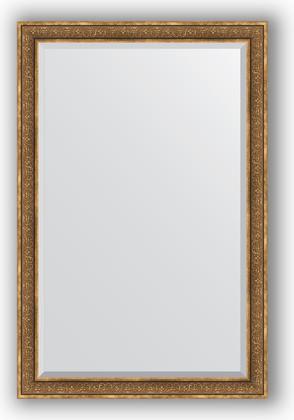 Зеркало с фацетом в багетной раме 119x179см вензель бронзовый 101мм Evoform BY 3630