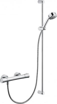 Душевая система с термостатом и ручным душем на 2 вида струи, хром Kludi ZENTA 6057705-00
