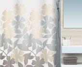 Штора для ванны 180x200см текстильная бежевая Spirella FLEURY 1017085