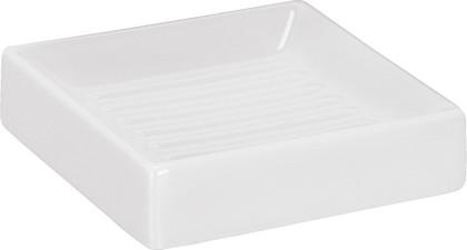 Мыльница керамика, белый Kleine Wolke Flash 5045114853