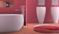 Коврик для ванной 60x90см розовый Grund Regent 283.14.106