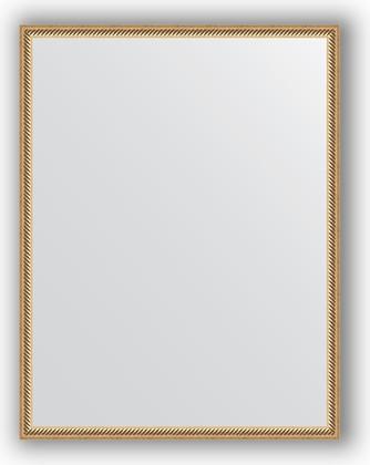 Зеркало 68x88см в багетной раме витое золото Evoform BY 0675