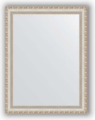 Зеркало в багетной раме 65x85см версаль серебро 64мм Evoform BY 3174