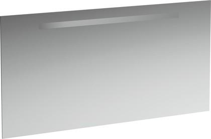 Зеркало 120x62см со встроенным горизонтально светильником Laufen CASE 4.4726.1.996.144.1