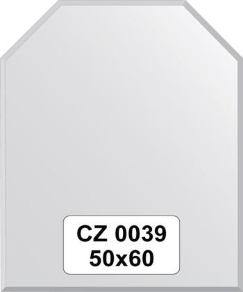 Зеркало для ванной 50x60см с фацетом 10мм FBS CZ 0039