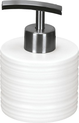 Ёмкость для жидкого мыла керамика, белый Kleine Wolke Sahara 5046100849