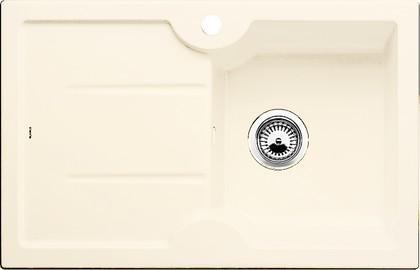 Кухонная мойка чаша слева, крыло справа, керамика, магнолия глянцевая Blanco Idessa 45 S 519603