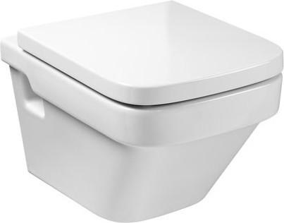 Керамический подвесной унитаз с горизонтальным выпуском, белый Roca DAMA 346787000