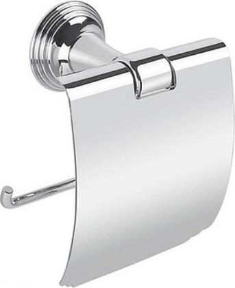Держатель для туалетной бумаги с крышкой, хром Colombo Hermitage B3391