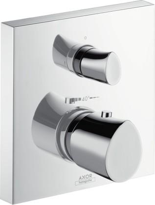 Термостат для ванны встраиваемый без излива и без встраиваемого механизма, хром Hansgrohe AXOR Starck Organic 12716000