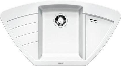 Кухонная мойка крыло слева, гранит, белый Blanco Zia 9 E 514758