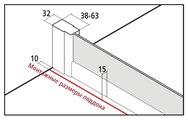 Душевой уголок Kermi Cada XS CK E2R+E2L, 90x90см, прозрачное стекло CKE2R09020VPK/CKE2L09020VPK