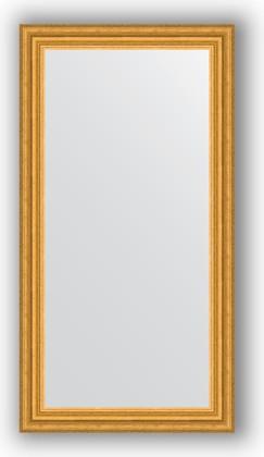 Зеркало 56x106см в багетной раме 67мм старое золото Evoform BY 1061