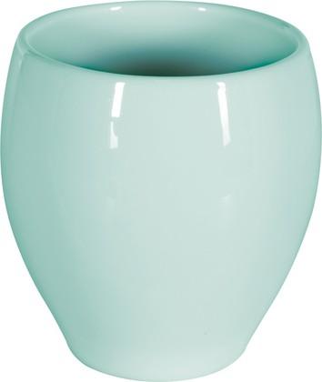Стакан керамический для ванной светло-голубой Spirella Bali 1018166