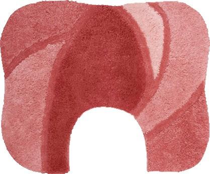 Коврик для туалета 50x60см розовый Grund Regent 283.06.106