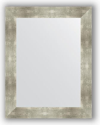 Зеркало в багетной раме 70x90см алюминий 90мм Evoform BY 3186