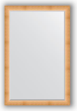 Зеркало 116x176см с фацетом 30мм в багетной раме травлёное золото Evoform BY 1221