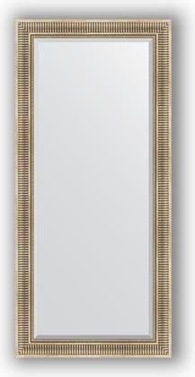Зеркало 77x167см с фацетом 25мм в багетной раме серебряный акведук Evoform BY 1308