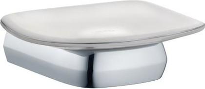 Мыльница фарфоровая с хромированным держателем Keuco EDITION PALAIS 40055013000