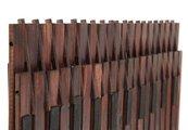 Коврик для ванной 50x80см из натурального дерева Kleine Wolke Window 5053 318 207