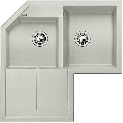 Кухонная мойка крыло слева, гранит, жемчужный Blanco Metra 9 Е 520588