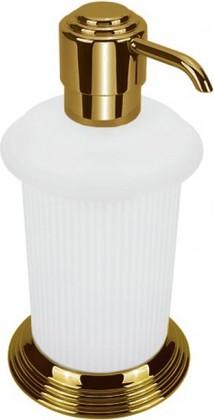 Дозатор жидкого мыла настольный, античная бронза/матовое стекло Colombo Hermitage B9336.OA