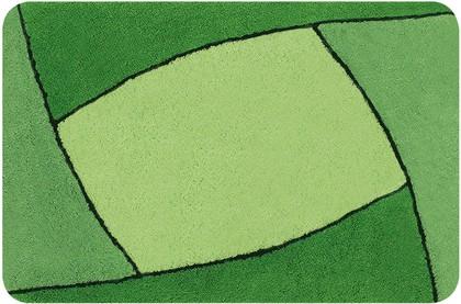 Коврик для ванной 60x90см зелёный Spirella FOCUS 1014213