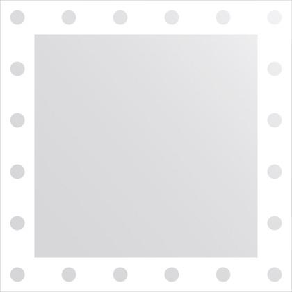 Зеркало для ванной с орнаментом 60x60см FBS CZ 0712