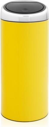 Ведро для мусора 30л жёлтое Brabantia Touch Bin 481048