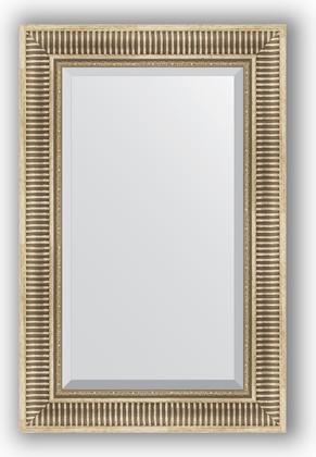 Зеркало 57x87см с фацетом 25мм в багетной раме серебряный акведук Evoform BY 1238