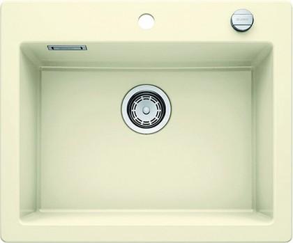 Кухонная мойка без крыла, с клапаном-автоматом, керамика, магнолия Blanco Palona 6 520923