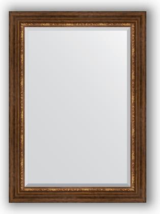 Зеркало с фацетом в багетной раме 76x106см римская бронза 88мм Evoform BY 3465