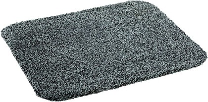 Коврик придверный 60x75см для помещения серый, хлопок / микрофибра Golze ASTRA SAUGAKTIV 601-35-40