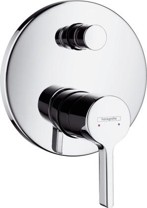 Наружная часть смесителя для ванны с переключателем (к ibox universal), хром Hansgrohe Metris S 31465000