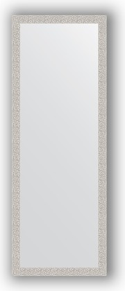 Зеркало в багетной раме 51x141см мозаика хром 46мм Evoform BY 3100