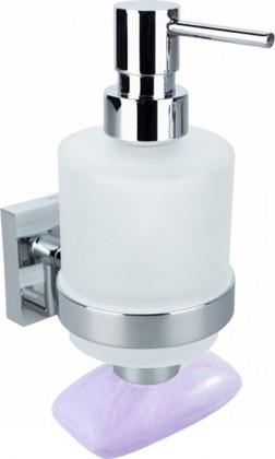 Дозатор для жидкого мыла с магнитной мыльницей, хром Bemeta Beta 132109182