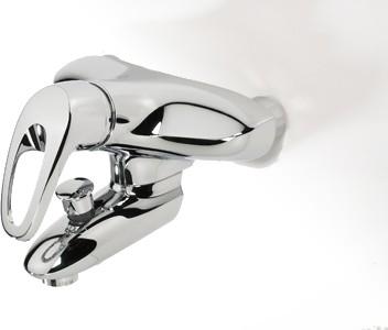 Смеситель однорычажный для ванны с душем Oras SAFIRA 1072X