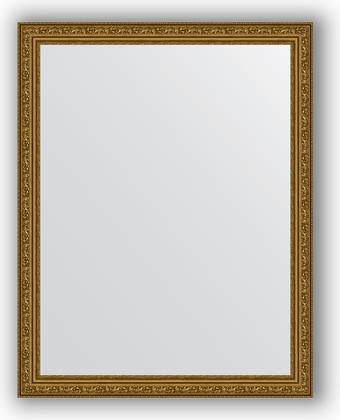 Зеркало в багетной раме 74x94см виньетка состаренное золото 56мм Evoform BY 3263