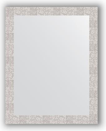 Зеркало в багетной раме 76x96см соты алюминий 70мм Evoform BY 3275