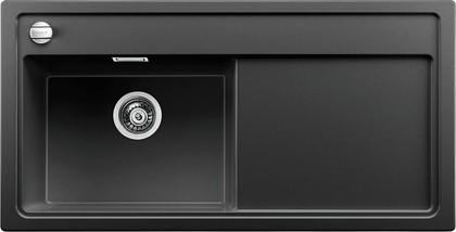 Кухонная мойка чаша слева, крыло справа, с клапаном-автоматом, гранит, антрацит Blanco Zenar XL 6 S 519281