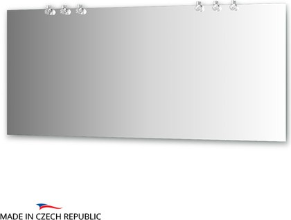 Зеркало со светильниками 170х75см Ellux CRY-D6 0220