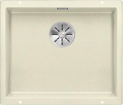 Кухонная мойка Blanco Subline 500-U, без крыла, отводная арматура, гранит, жасмин 523437