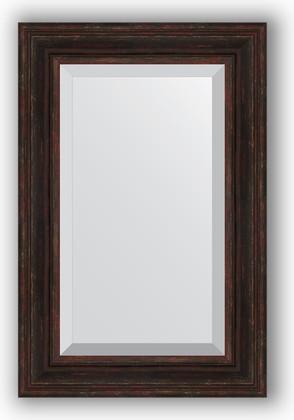 Зеркало с фацетом в багетной раме 59x89см темный прованс 99мм Evoform BY 3421