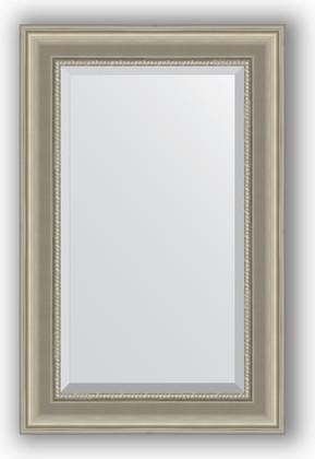 Зеркало 56x86см с фацетом 30мм в багетной раме хамелеон Evoform BY 1235